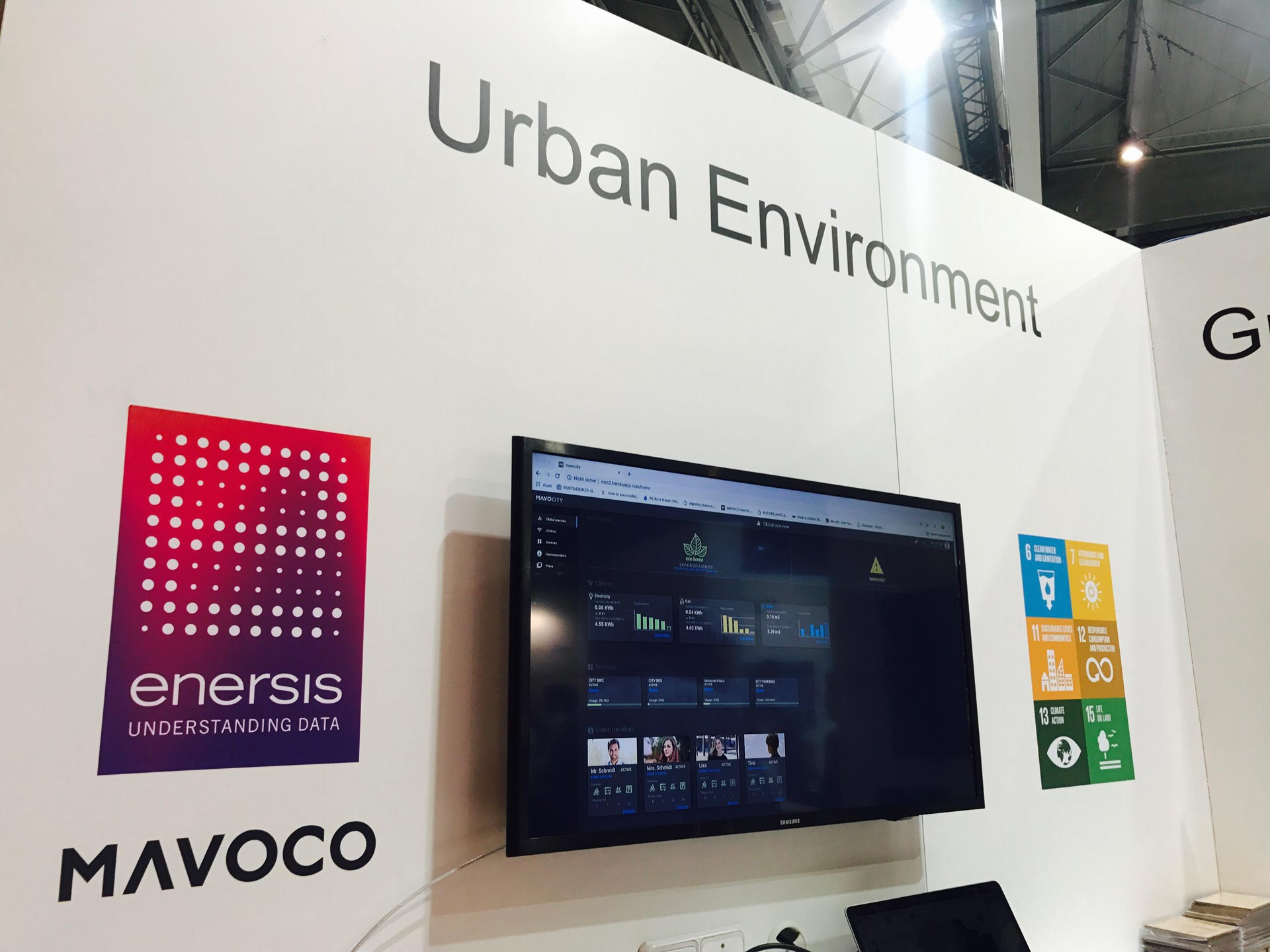 MAVOCO at SMART CITY EXPO 2018 - solution for the industry